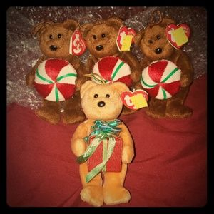 TY Christmas Bears 4/$20